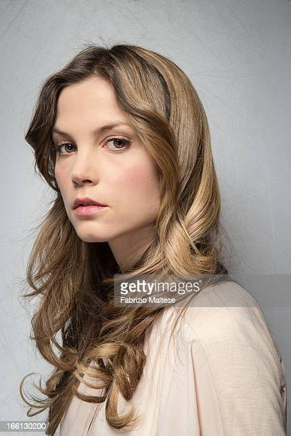 Actress Sylvia Hoeks is photographed for Self Assignment on February 11 2013 in Berlin Germany