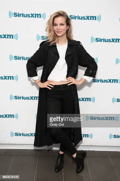 Actress Sylvia Hoeks visits the SiriusXM Studios on October 12 2017 in New York City