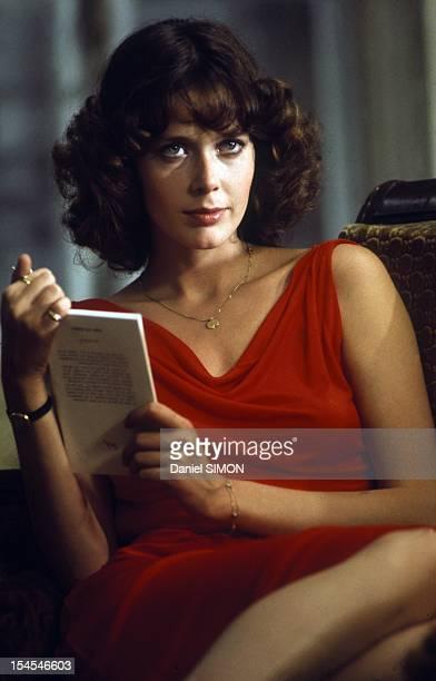 Actress Sylvia Kristel circa 1975 in France