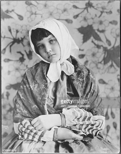 Actress Sylvia Sidney at Age 12