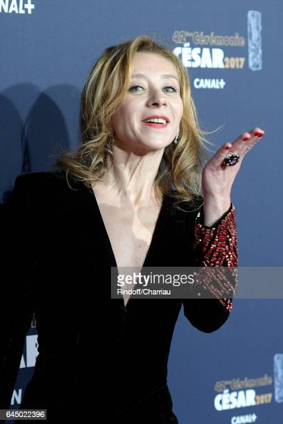 Actress Sylvie Testud arrives at the Cesar Film Awards Ceremony at Salle Pleyel on February 24 2017 in Paris France