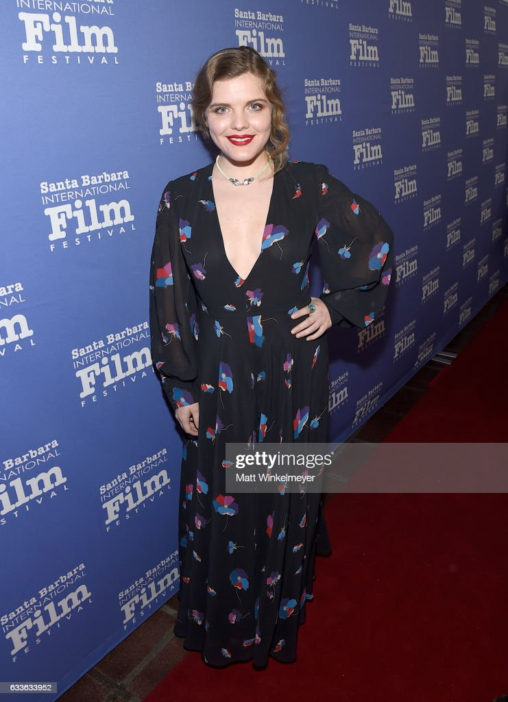 Actress Syrie Moskowitz of 'The Gateway Bug' attends the Maltin Modern Master Award tribute during the 32nd Santa Barbara International Film Festival at the Arlington Theater on February 2, 2017 in Santa Barbara, California.
