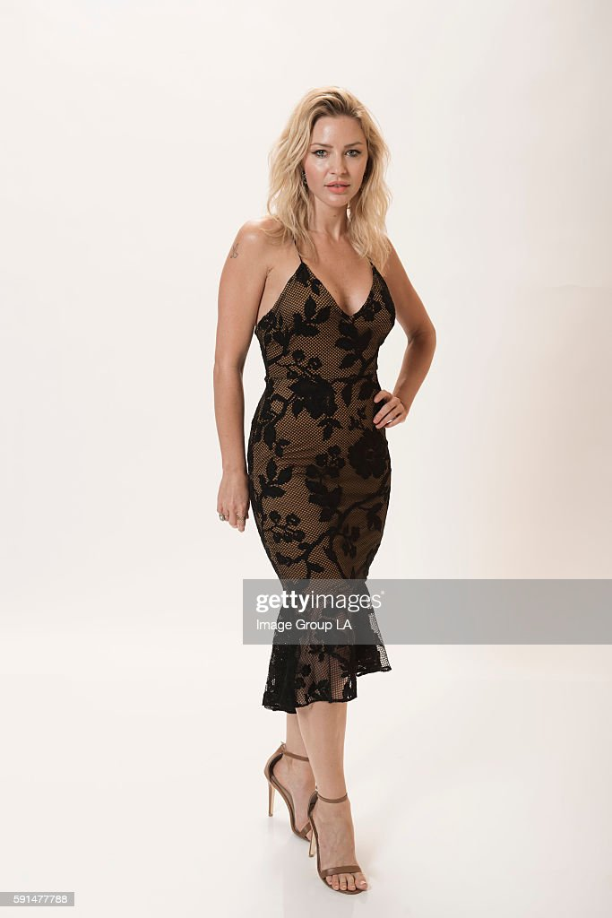 Actress Tabrett Bethell poses for a portraits at the Beverly Hills Ballroom of The Beverly Hilton in Beverly Hills at Disney   ABC Television Group's...