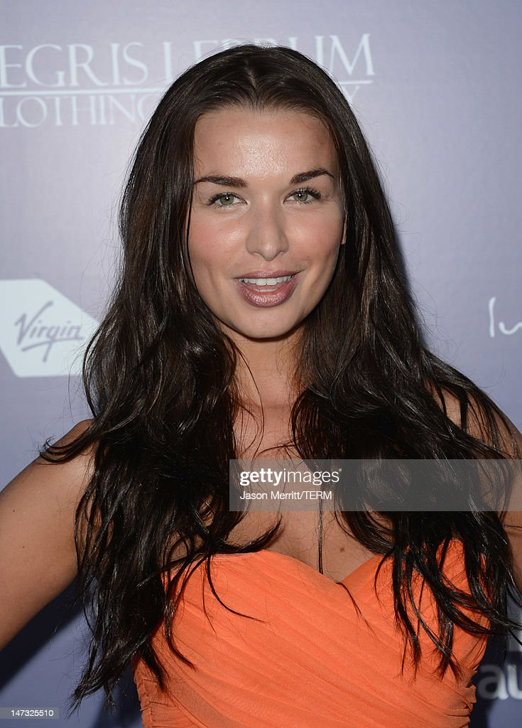 Actress Tahnya Tozzi arrives at Australians In Film Awards Benefit Dinner at InterContinental Hotel on June 27 2012 in Century City California