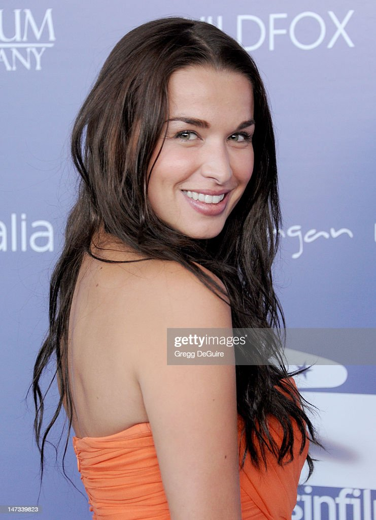 Actress Tahyna Tozzi arrives at the 8th Annual Australians In Film Breakthrough Awards at InterContinental Hotel on June 27 2012 in Century City...