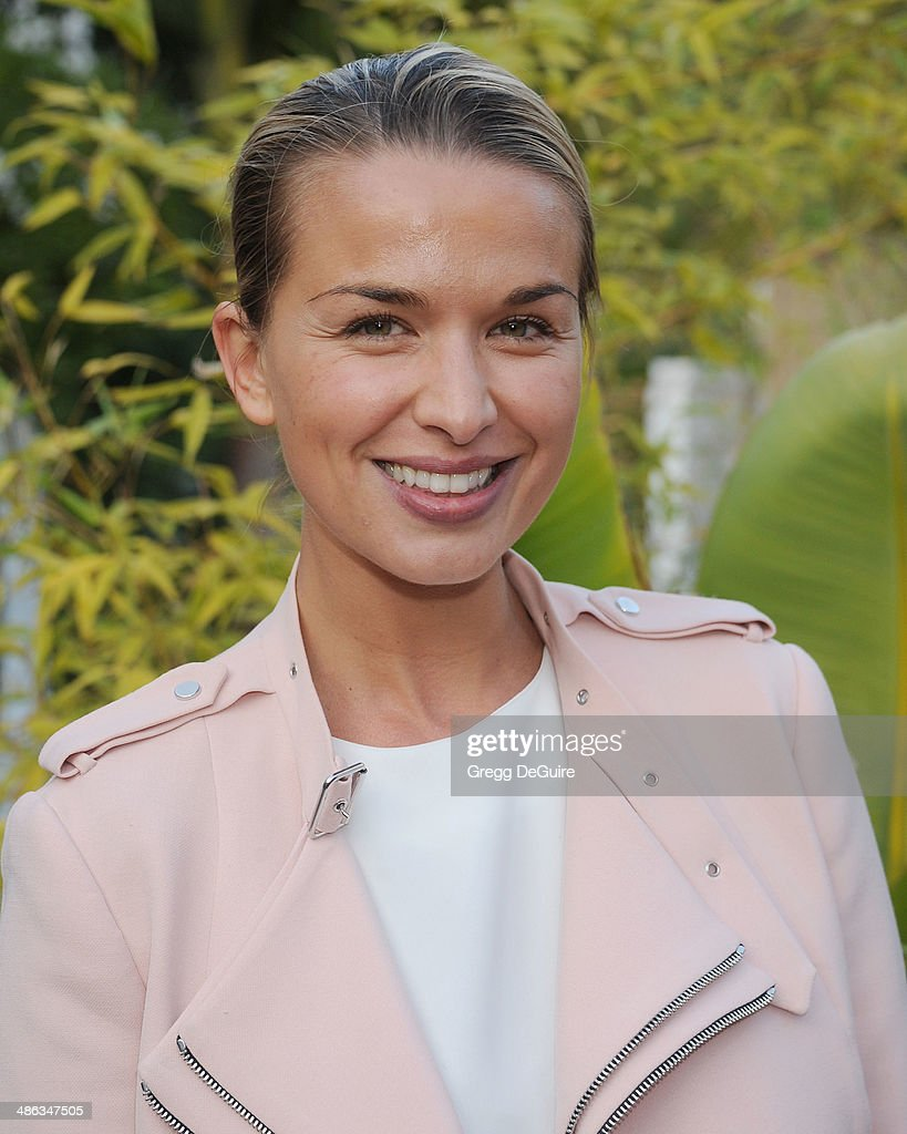 Actress Tahyna Tozzi attends the media launch for the Australian Theatre Company on April 23 2014 in Los Angeles California