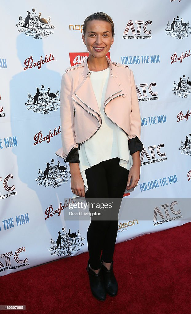 Actress Tahyna Tozzi attends the media launch for the new Australian Theatre Company and it's first production 'Holding the Man' at the Official...