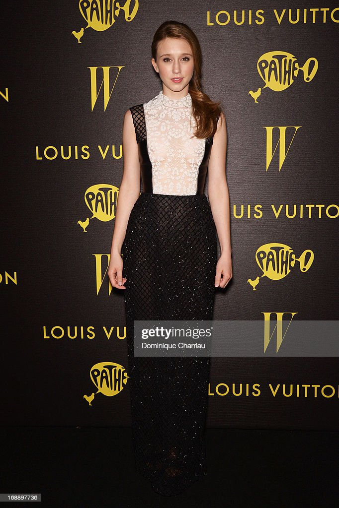 Actress Taissa Fariga attends The Bling Ring Party hosted by Louis Vuitton during The 66th Annual Cannes Film Festival at Club d'Albane/JW Marriott on May 16, 2013 in Cannes, France.