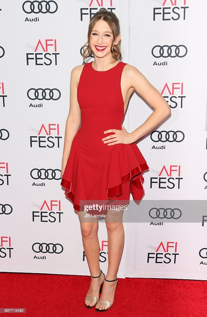 Actress Taissa Farmiga attends the AFI FEST 2016 Presented By Audi - Opening Night - Premiere Of 20th Century Fox's 'Rules Don't Apply' at TCL Chinese Theatre on November 10, 2016 in Hollywood, California.