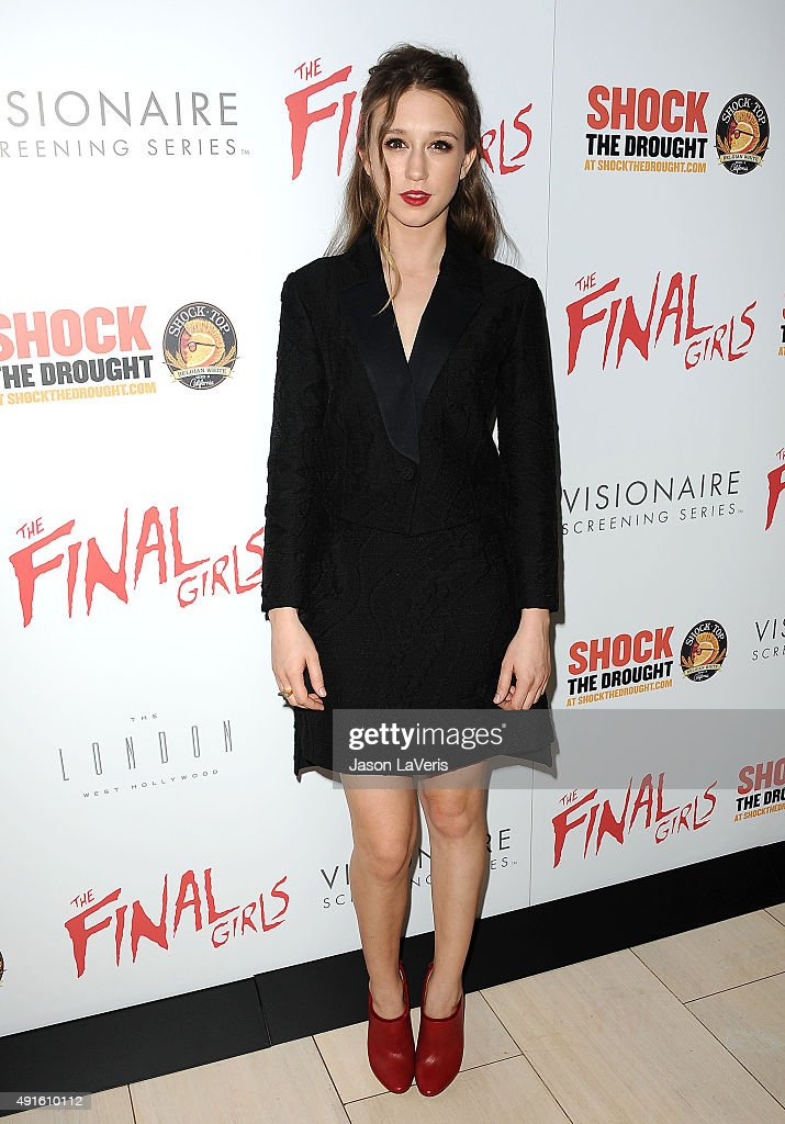 "Premiere Of Vertical Entertainment's ""The Final Girls"" - Arrivals"