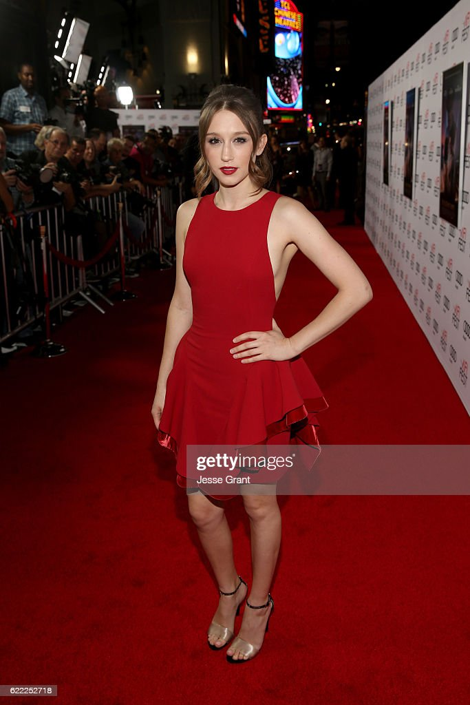 Actress Taissa Farmiga attends the world premiere of 'Rules Don't Apply' at AFI Fest 2016, presented by Audi at TCL Chinese Theatre on November 10, 2016 in Hollywood, California.