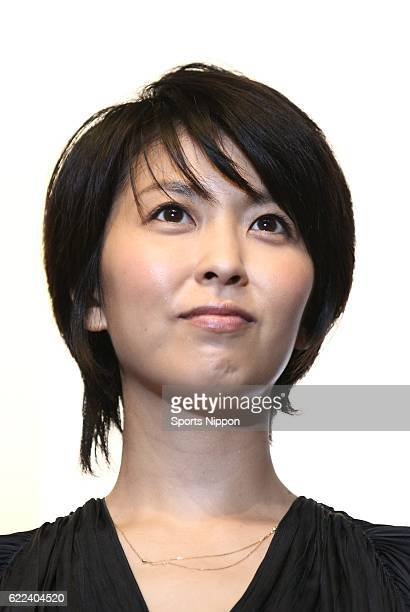 Actress Takako Matsu attends opening day stage greeting of film 'Someday' on July 16 2011 in Tokyo Japan