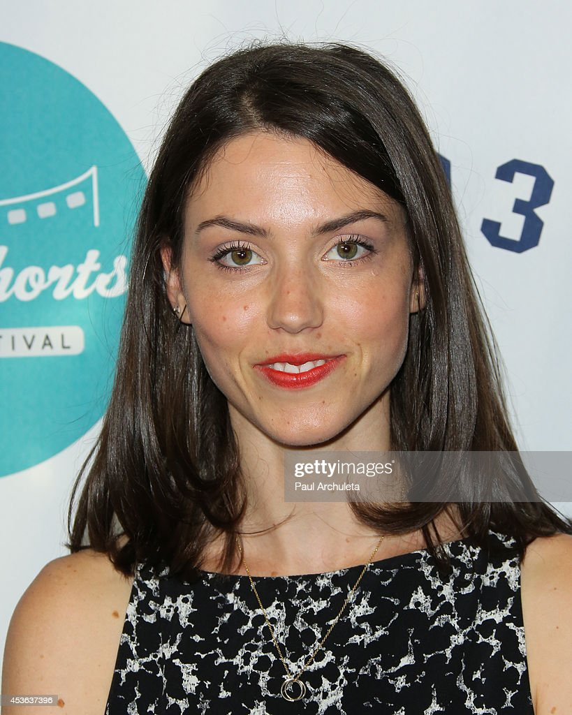 Actress Talia Tabin attends the HollyShorts opening night gala at the TCL Chinese Theatre on August 14, 2014 in Hollywood, California.