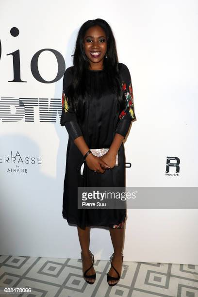 Actress Taliah Webster attends the 'Good Time' after party at Club Albane during the 70th annual Cannes Film Festival at Club Albane on May 25 2017...