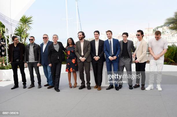 Actress Taliah Webster writer and codirector Joshua Safdie codirector Ben Safdie actor Robert Pattinson actor Buddy Duress producers Oscar Boyson and...