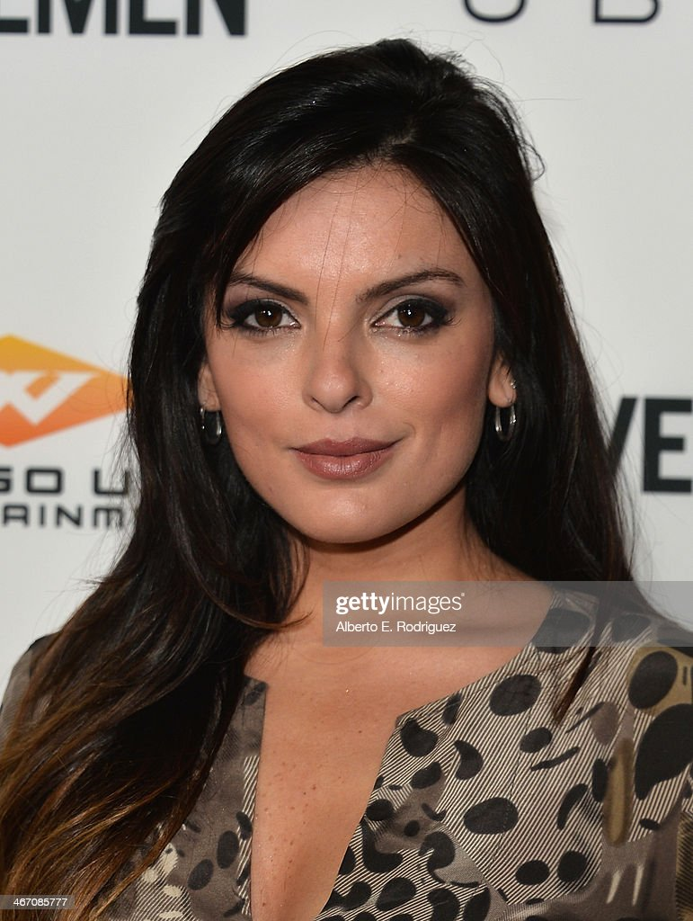 Actress Talita Maia arrives to the premiere of 'Cavemen' at the ArcLight Cinemas on February 5, 2014 in Hollywood, California.