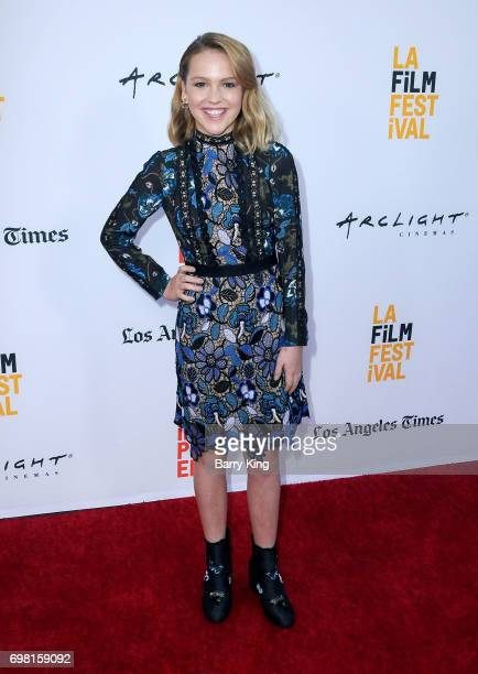 Actress Talitha Bateman attends the 2017 Los Angeles Film Festival Premiere of Warner Brothers Pictures' 'Annabelle Creation' at The Theatre at Ace...