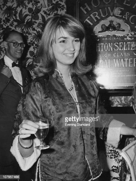 Actress Talitha Pol at the Players Theatre in London August 1961 She married oil tycoon John Paul Getty Jr in 1966
