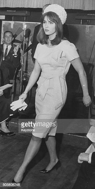 Actress Talitha Pol who is soon to marry Paul Getty Junior arriving in Rome December 7th 1966