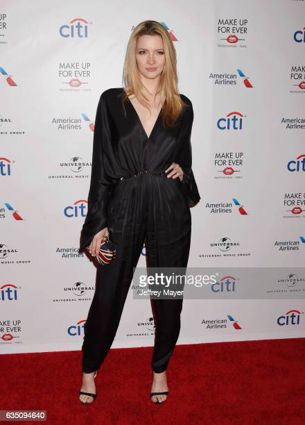 Actress Talulah Riley arrives at the Universal Music Group's 2017 GRAMMY After Party at The Theatre at Ace Hotel on February 12 2017 in Los Angeles...