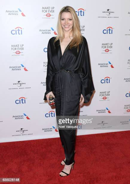 Actress Talulah Riley arrives at Universal Music Group 2017 Grammy after party presented by American Airlines and Citi at the Ace Hotel on February...