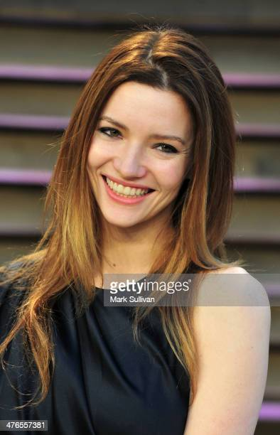 Actress Talulah Riley attends the 2014 Vanity Fair Oscar Party hosted by Graydon Carter on March 2 2014 in West Hollywood California