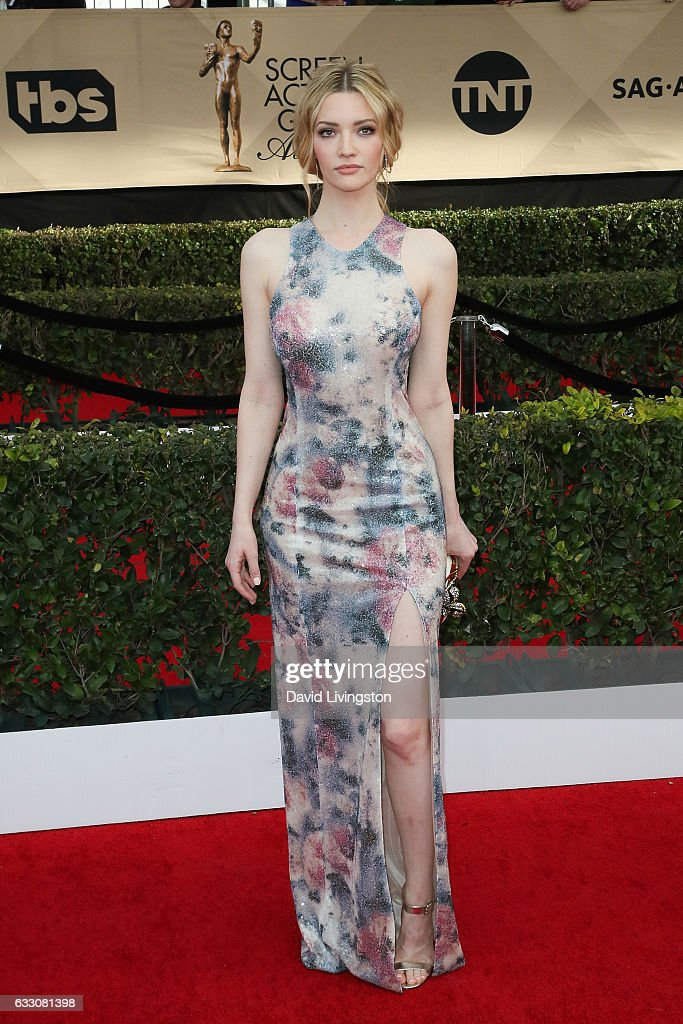 Actress Talulah Riley attends the 23rd Annual Screen Actors Guild Awards at The Shrine Expo Hall on January 29, 2017 in Los Angeles, California.