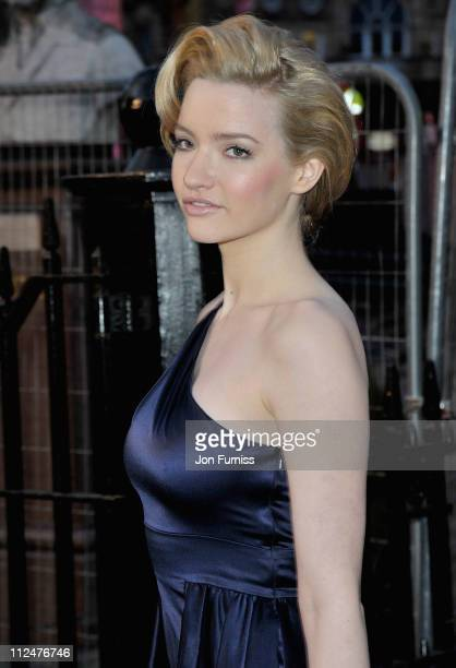Actress Talulah Riley attends 'The Boat That Rocked' world premiere at the Odeon Leicester Square on March 23 2009 in London England
