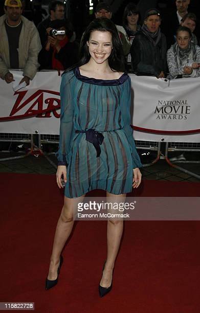 Actress Talulah Riley attends the National Movie Awards at the Royal Festival Hall on September 28 2007 in London England