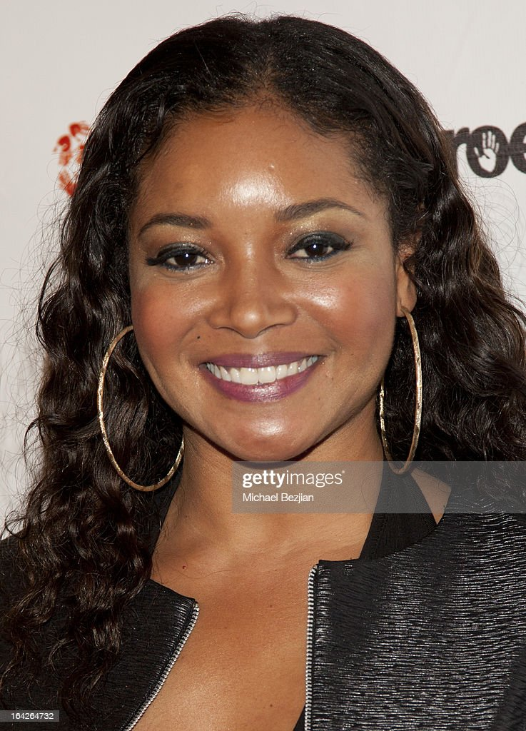 Actress Tamala Jones attends 'Love Is Heroic' - The Unlikely Heroes Annual Spring Benefit at W Hollywood on March 21, 2013 in Hollywood, California.