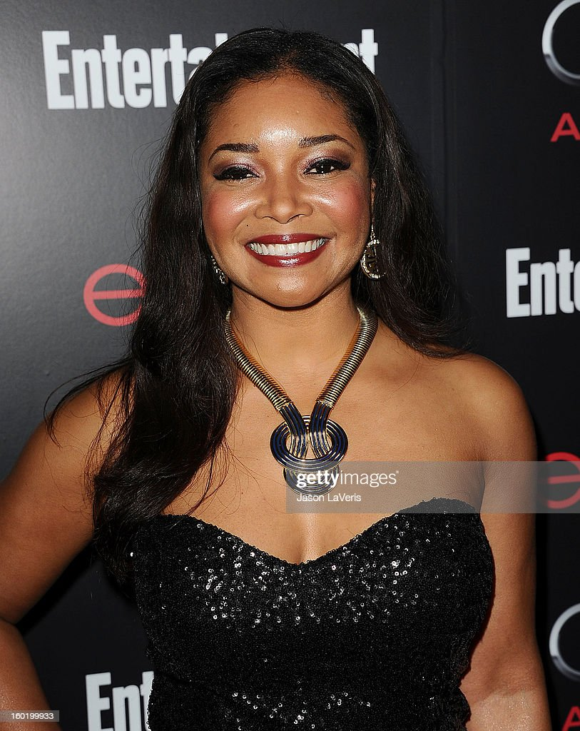 Actress Tamala Jones attends the Entertainment Weekly Screen Actors Guild Awards pre-party at Chateau Marmont on January 26, 2013 in Los Angeles, California.