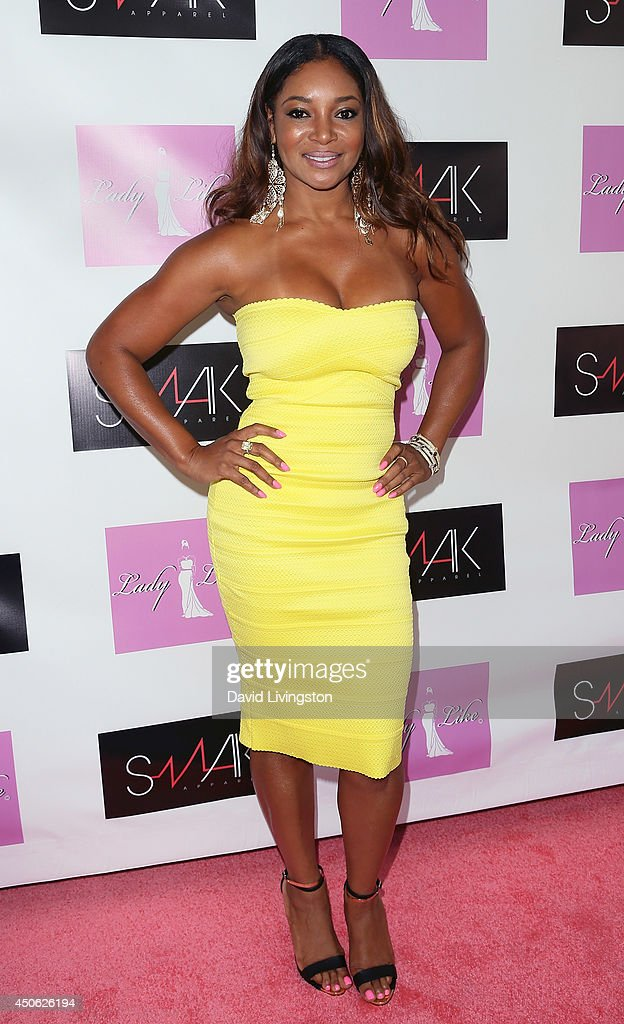 Actress <a gi-track='captionPersonalityLinkClicked' href=/galleries/search?phrase=Tamala+Jones&family=editorial&specificpeople=1545292 ng-click='$event.stopPropagation()'>Tamala Jones</a> attends the LadyLike Foundation's 6th Annual Women of Excellence Scholarship Luncheon at the Luxe Hotel on June 14, 2014 in Los Angeles, California.