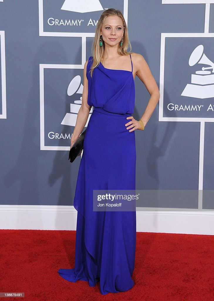 Actress Tamara Braun arrives at 54th Annual GRAMMY Awards held the at Staples Center on February 12, 2012 in Los Angeles, California.