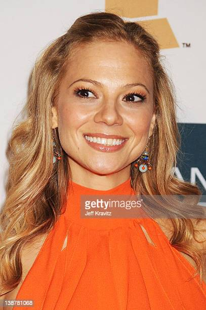 Actress Tamara Braun arrives at Clive Davis and the Recording Academy's 2012 PreGRAMMY Gala and Salute to Industry Icons Honoring Richard Branson...