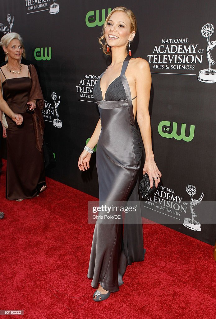 Actress Tamara Braun arrives at the 36th Annual Daytime Emmy Awards at The Orpheum Theatre on August 30, 2009 in Los Angeles, California.