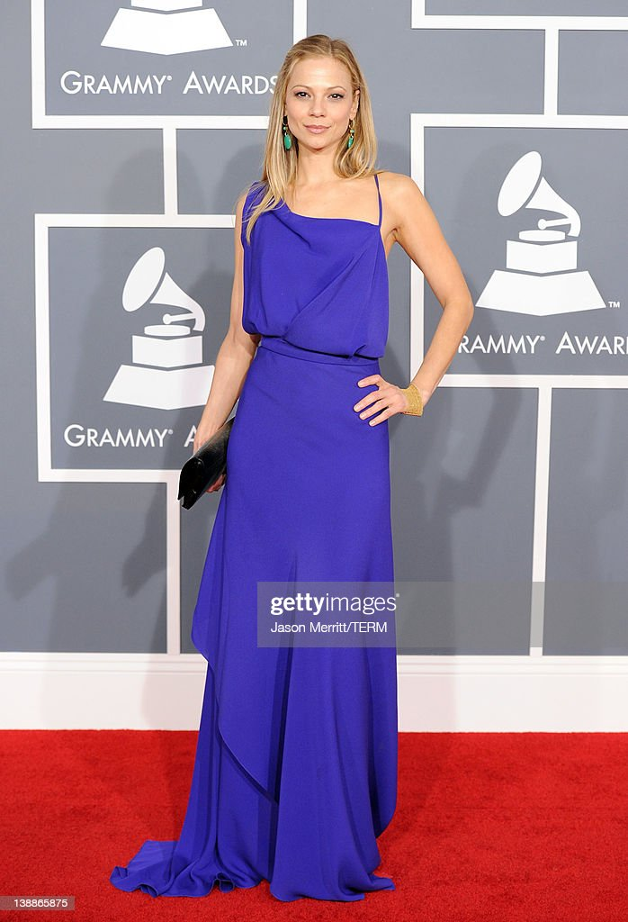 Actress Tamara Braun arrives at the 54th Annual GRAMMY Awards held at Staples Center on February 12, 2012 in Los Angeles, California.