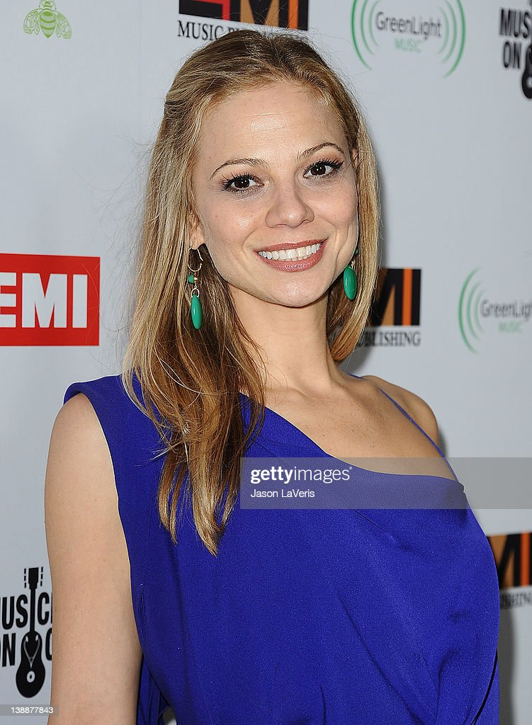 Actress Tamara Braun attends the EMI Grammy after party on February 12, 2012 in Hollywood, California.