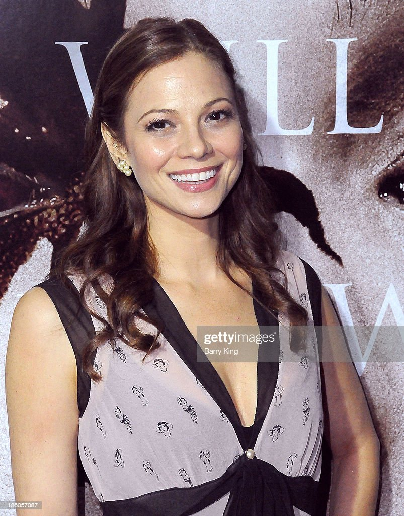 Actress Tamara Braun attends the premiere of 'Carrie' on October 7, 2013 at ArcLight Hollywood in Hollywood, California.