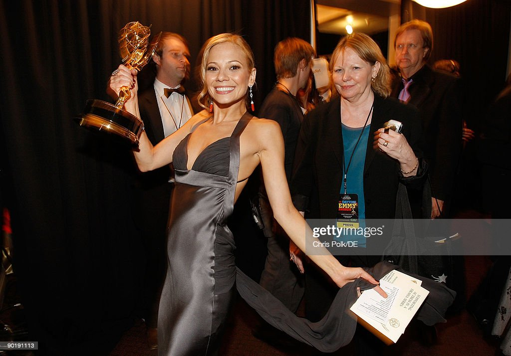 Actress Tamara Braun, winner of the Emmy for Outstanding Supporting Actress in a Drama Series, attends the 36th Annual Daytime Emmy Awards at The Orpheum Theatre on August 30, 2009 in Los Angeles, California.