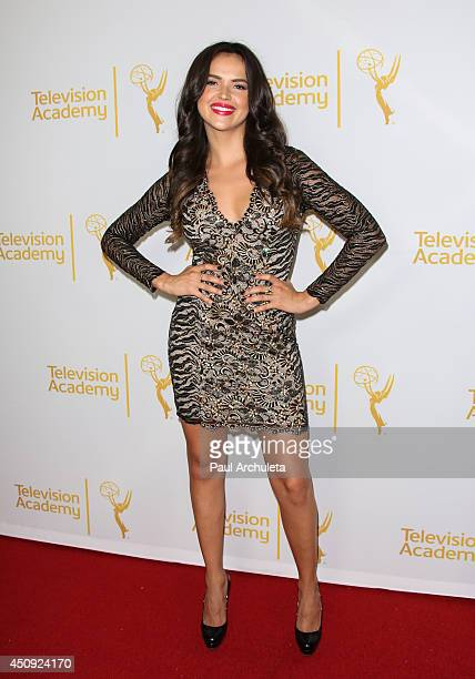 Actress Tamara Duarte attends the Daytime Emmy Nominee Reception at The London West Hollywood on June 19 2014 in West Hollywood California