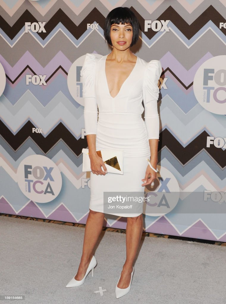 Actress Tamara Taylor arrives at the 2013 Winter TCA FOX All-Star Party at The Langham Huntington Hotel and Spa on January 8, 2013 in Pasadena, California.