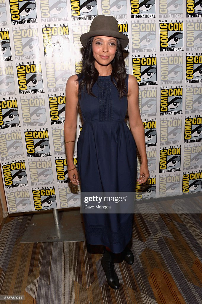 Actress Tamara Taylor attends Comic-Con International 2016 'Bones' press line at Hilton Bayfront on July 22, 2016 in San Diego, California.