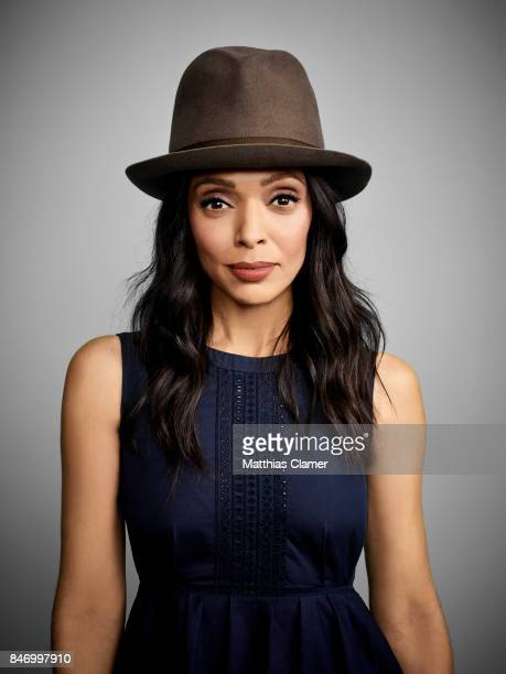 Actress Tamara Taylor from 'Bones' is photographed for Entertainment Weekly Magazine on July 22 2016 at Comic Con in the Hard Rock Hotel in San Diego...