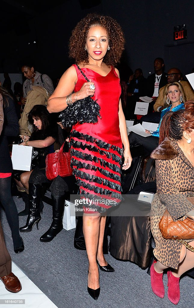 Actress Tamara Tunie attends B Michael America during Fall 2013 Mercedes-Benz Fashion Week at The Studio at Lincoln Center on February 13, 2013 in New York City.