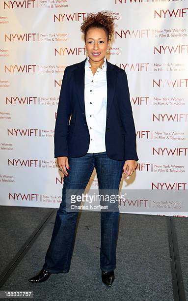 Actress Tamara Tunie attends the 2012 New York Women In Film And Television Muse Awards at the Hilton New York on December 13 2012 in New York City