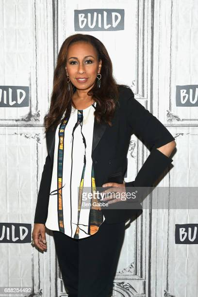 Actress Tamara Tunie attends the Build Series to discuss the play 'Building The Wall' at Build Studio on May 25 2017 in New York City