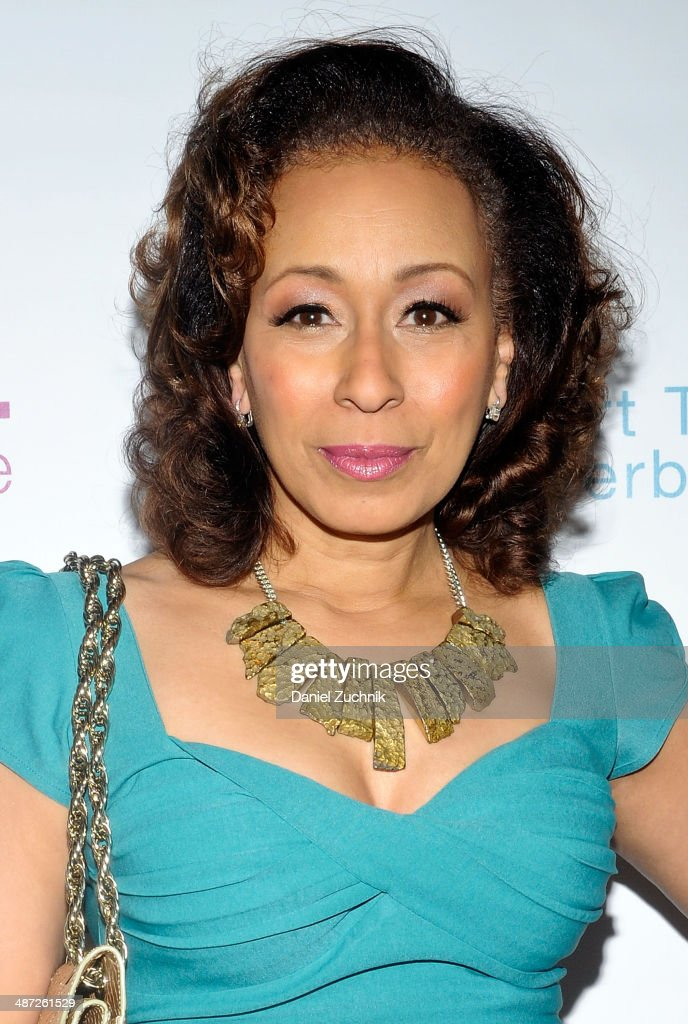 Actress Tamara Tunie attends the Harlem Stage 2014 Spring Gala at Harlem Stage Gatehouse on April 28, 2014 in New York City.