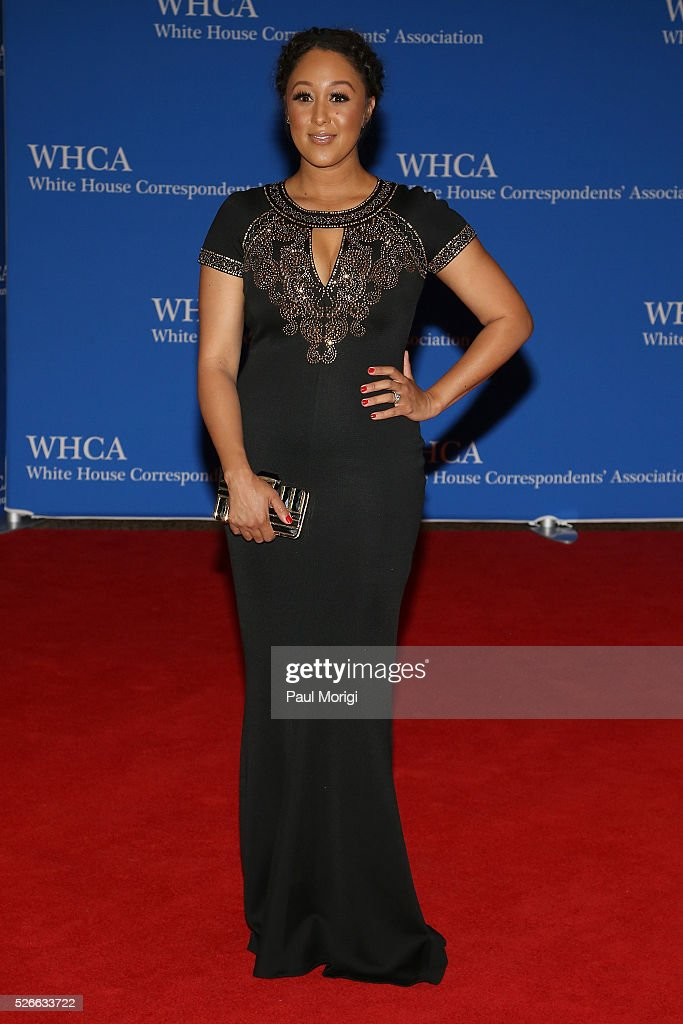 Actress <a gi-track='captionPersonalityLinkClicked' href=/galleries/search?phrase=Tamera+Mowry&family=editorial&specificpeople=798679 ng-click='$event.stopPropagation()'>Tamera Mowry</a> attends the 102nd White House Correspondents' Association Dinner on April 30, 2016 in Washington, DC.