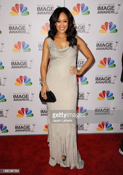Actress Tamera Mowry attends the 43rd annual NAACP Image Awards at The Shrine Auditorium on February 17 2012 in Los Angeles California