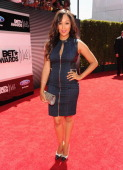 Actress Tamera Mowry attends the BET AWARDS '14 at Nokia Theatre LA LIVE on June 29 2014 in Los Angeles California